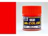 peinture maquette Mr Color C171 Rouge Fluorescent 10ml