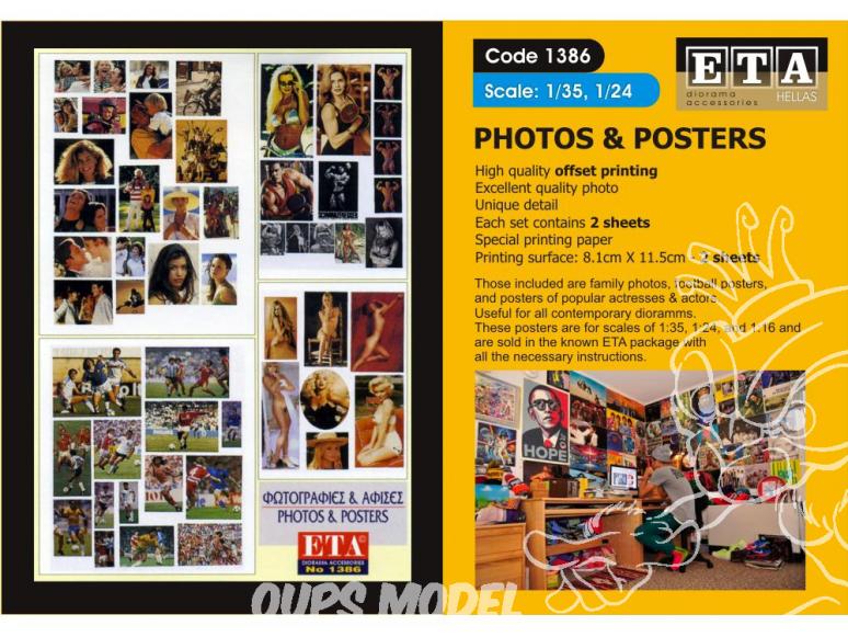 ETA diorama 1386 Imprimé Photos et posters 1/35 - 1/24