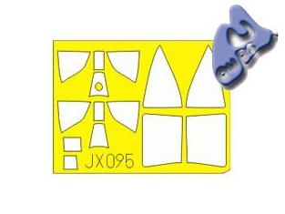 Eduard Express Mask jx095 KI-44 SHOKI 1/32