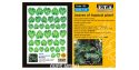 ETA diorama 102 Imprimé Feuilles plantes tropicales Monstera 1/35