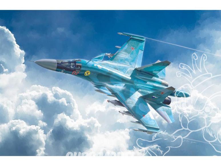 Italeri maquette avion 1379 Sukhoi Su-34 / Su-32 FN 1/72