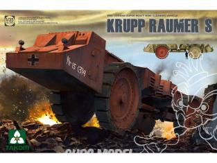 Takom maquette militaire 2053 Krupp Raumer S Vehicule de deminage 1/35