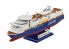 Revell maquette bateau 05818 MS Color Magic 1/1200