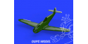 Eduard kit d'amelioration avion brassin 648310 Gouvernes Bf 109G Eduard 1/48