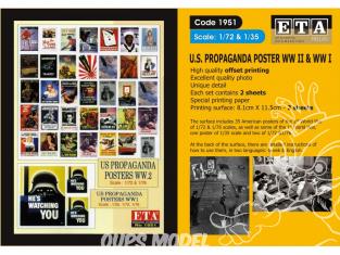 ETA diorama 1951 Imprimé Affiches - Posters Propagande US WWI - WWII 1/35 - 1/48 - 1/72 - 1/76