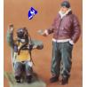 CMK figurine 48022 PILOTE DE CHASSE US ASSIS 1/48