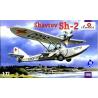 Amodel maquette avion 7216 Sh-2 HYDRAVION SOVIETIQUE 1/72