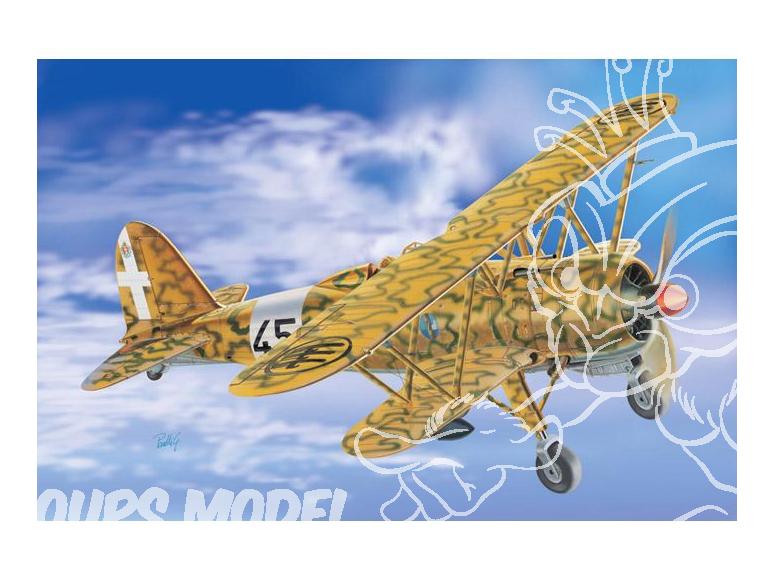italeri maquette avion 2653 CR.42 AS 1/48