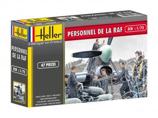 Heller maquette avion 49647 Personnel de RAF 1/72