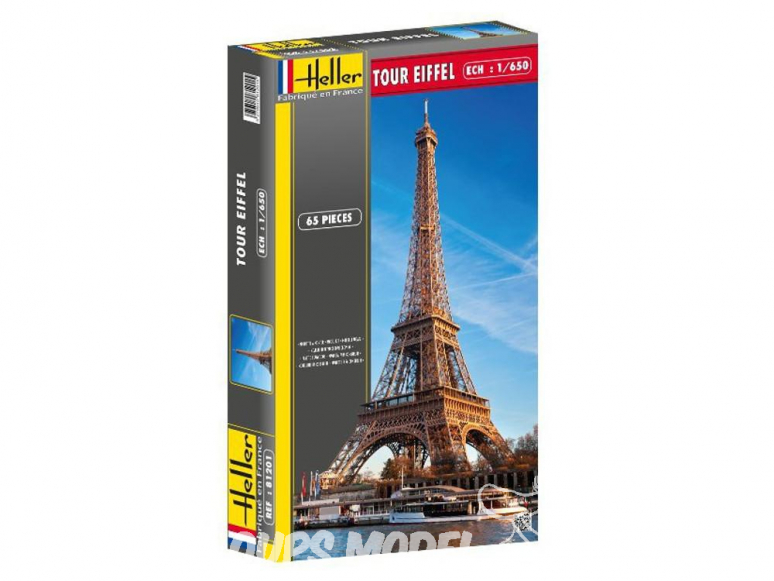 Heller maquette 81201 Tour Eiffel 1/650