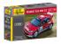 HELLER maquette voiture 80113 Peugeot 206 WRC 1/43