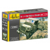 Heller maquette militaire 79997 WILLYS MB Jeep & Trailer 1/72