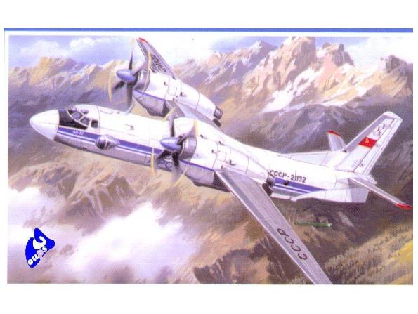 Amodel maquette avion 7296 ANTONOV An-32 1/72