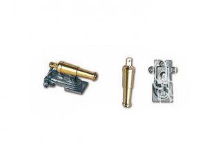 Constructo 80093 Canons laiton avec embase métal 30 x 7mm