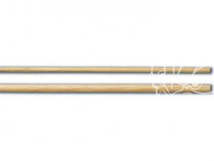 Constructo 80174 3 tiges ronde tilleul ivoire 8 x 1000
