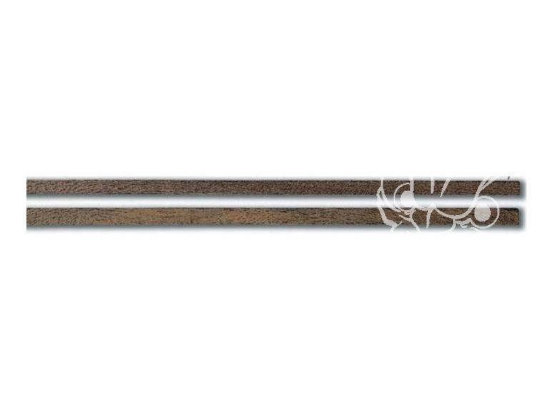 Constructo 80168 10 baguettes de plaquage mansonia marron foncé 0,5 x 5 x 1000