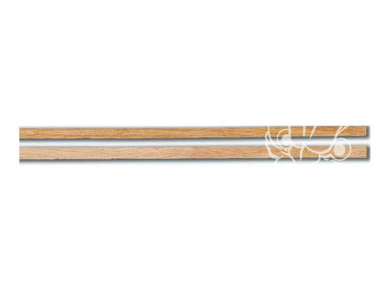 Constructo 80166 10 baguettes de plaquage Mukali brun rosacé 0,5 x 5 x 1000