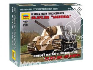 Zvezda maquette militaire 6206 Jagdtiger 1/100