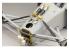 Top Studio amélioration TD23164  Detail-UP set Amotisseurs avant et cloison pour la MP4/6 Tamiya 1/12