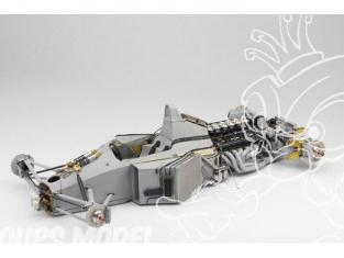 Top Studio amélioration MD29015 Super Detail-UP set pour la MP4/6 Tamiya 1/12