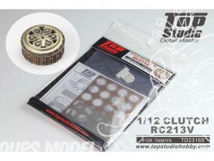 Top Studio amélioration TD23169 Cloche d'embrayage RC213V Tamiya 1/12