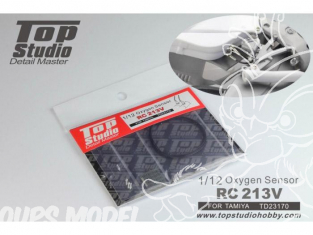 Top Studio amélioration TD23170 Capteur d'oxygene RC213V pour kit Tamiya 1/12