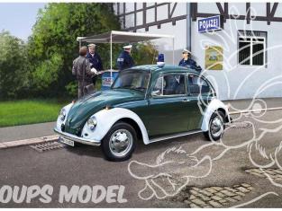 Revell maquette voiture 67035 VW Beetle police Allemande Model set 1/24