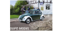 Revell maquette voiture 67035 VW Beetle police Allemande Model set 1/24