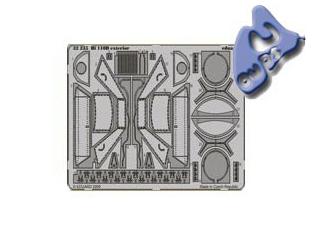 EDUARD photodecoupe 32235 EXTERIEUR BF 110D 1/32