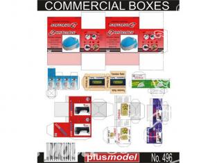 Plus Model 496 BOITE EN CARTONS a usage commercial 1/35