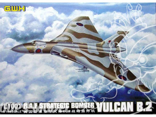 Great Wall Hobby maquette avion L1001 Vulcan B.2 Bombardier Strategique R.A.F. 1/144