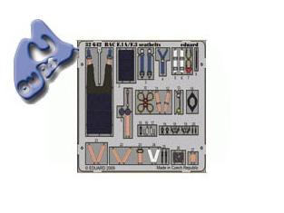 EDUARD photodecoupe 32642 BAC LIGHTNING F.1A/F.3 HARNAIS 1/32