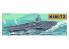 TRUMPETER maquette bateau 05201 Porte avions Classe USS Nimitz 1/500