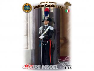 Icm maquette figurine 16003 Carabinier Italien 1/16