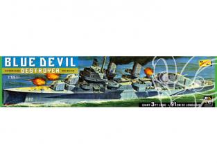 Lindberg maquette bateau HL212 Destroyer USS Melvin (DD-680) ou BLUE DEVIL 1/125