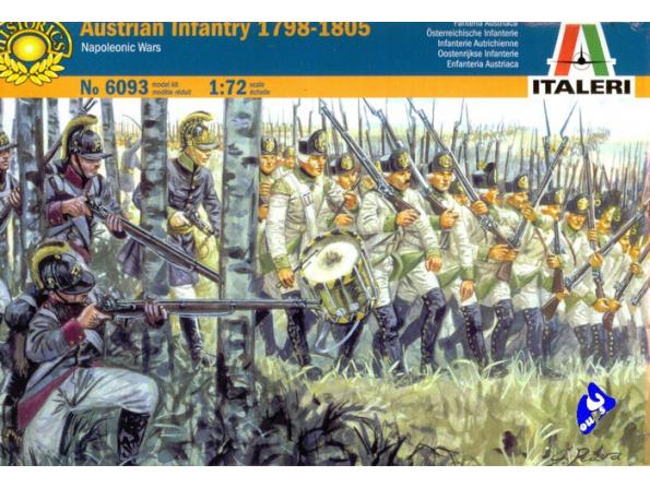 ITALERI Figurine 6093 Infanterie Autrichienne 1/72