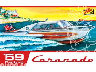 Lindberg maquette bateau HL221 1959 Century Coronado Boat 1/25