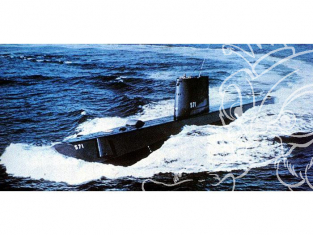 Lindberg maquette sous-marin 70884 USS Nautilus (SSN-571) 1/300