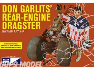 MPC maquette voiture 868 Don Garlits Swamp Rat 14 Rail Dragster 1/25