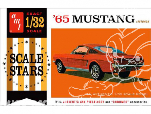 AMT maquette voiture 1042 1965 Mustang Fastback 1/32