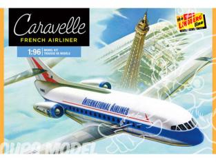 LINDBERG maquette avion HL513 Sud-Aviation SE 210 Caravelle 1/96