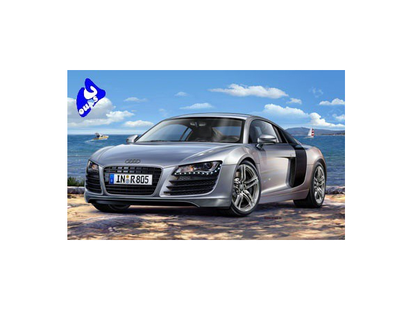 Revell maquette voiture 7398 Audi R8 1/24