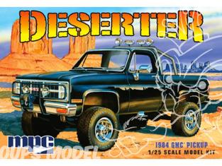 MPC maquette voiture 848 1984 GMC Pickup (Black) Deserter 1/25