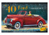 LINDBERG maquette voiture HL119 1940 Ford Convertible 1/32
