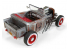 LINDBERG maquette voiture HL122 1934 Ford Roadster Rat Rod 1/25