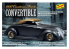 LINDBERG maquette voiture HL129 1937 Ford Custom Convertible 1/24