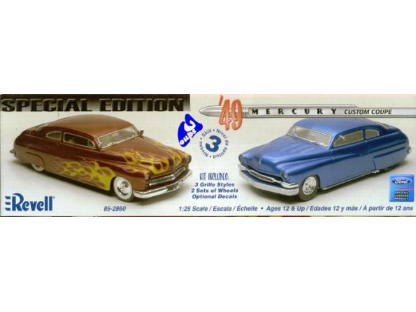Revell US maquette voiture 85-2860 Mercury Custom Coupé 1/25