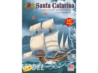 Lindberg maquette bateau HL202 Bateau a voiles SANTA CATARINA 1/144