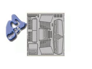 EDUARD photodecoupe 48615 CANBERRA B (I) 8 LANDING FLAPS 1/48