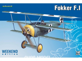 EDUARD maquette avion 8493 Fokker F.I WeekEnd Edition 1/48